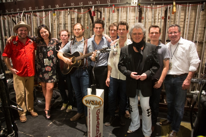Old Crow Medicine Show and Marty
